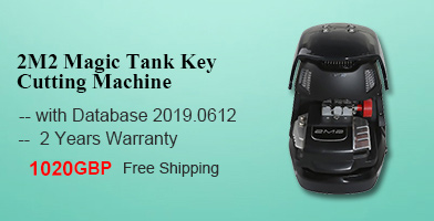 2M2 Magic Tank Automatic Car Key Cutting Machine Standard Version (without Battery) with Database 2019.0612