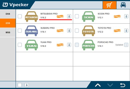 vpecker-easydiag-mitsubishi-pro-system-update-to-v18.2