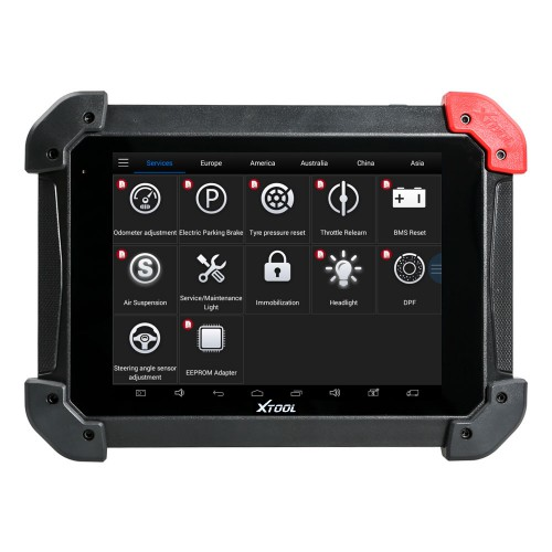 XTool PS90 Tablet Vehicle Wifi Diagnostic Tool Support EEPROM Two Years Free Update Online