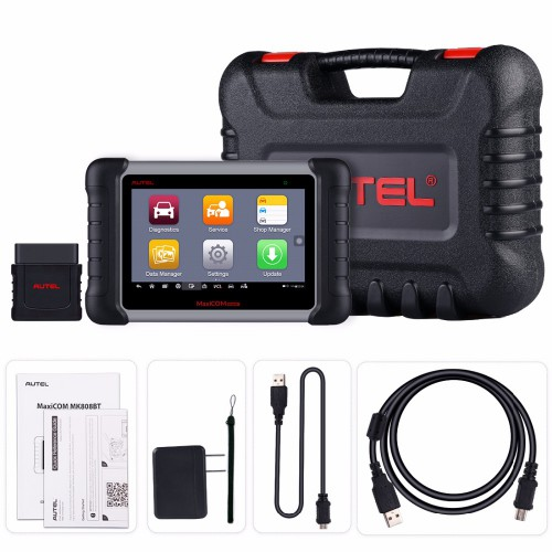 【UK Ship】Autel MaxiCOM MK808BT All System Diagnostic Tool with Bluetooth MaxiVCI Support ABS/ SRS/ EPB/ IMMO/ DPF/ SAS/ TMPS