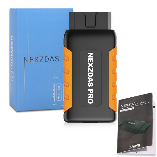 Humzor NexzDAS Pro Full-system Bluetooth Auto Diagnostic Tool OBD2 Scanner Car Code Reader with Special Functions