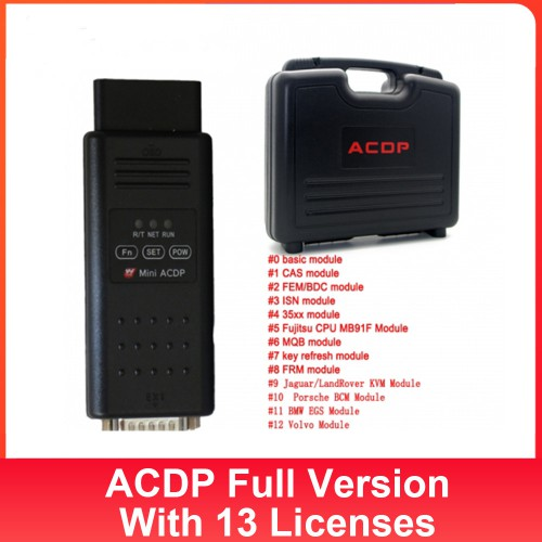 Yanhua Mini ACDP Programming Master Full Configuration with Total 13 Authorizations