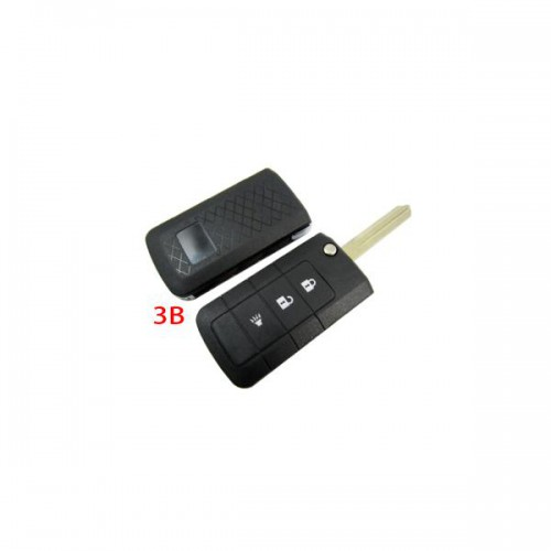 Flip Remote Key Shell 3 Button For Nissan 5pcs/lot