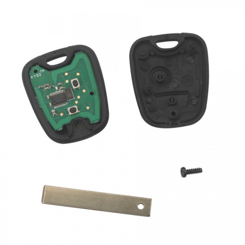 Remote Key 2 Button 434MHZ(with groove) For Citroen