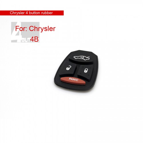 4 Button Rubber for Chrysler 10pcs/lot