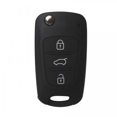 Modified Flip Remote Key Shell 3 Button for Hyundai I30 IX35 5pcs/lot