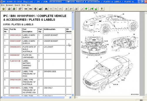 Repair Workshop Service Manual EPC ASSIST IETIS 2010 for Bentley