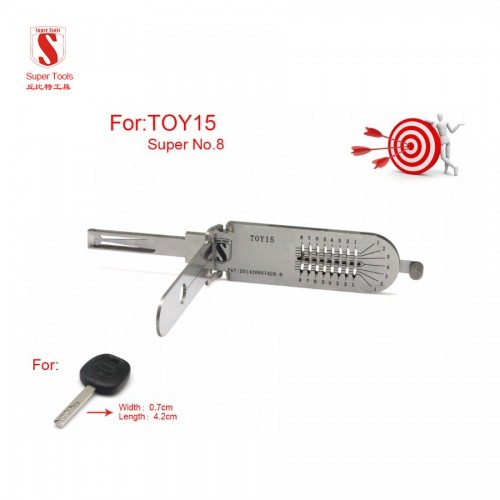 Super Auto Decoder and Pick Tools HU64 TOY15