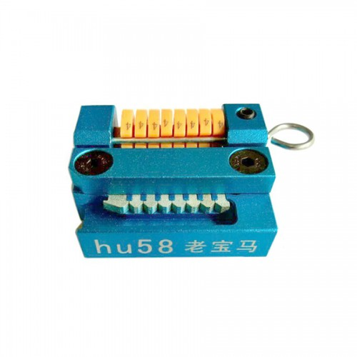 HU58 Manual Key Cutting Machine Support All Key Lost for BMW Old Models