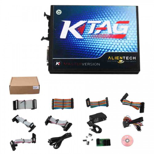 (Blow Out Sale) V2.13 Ktag FW V6.070 ECU Programmer Master Unlimited Tokens with ECM Tianium V1.61