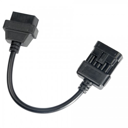 Opel 10Pin to OBD OBD2 16PIN Cable