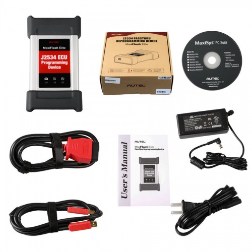 Autel MF2534 ECU MaxiFlash Elite MaxiFlash Elite J2534 Programming Tool Works with Maxisys 908/908P