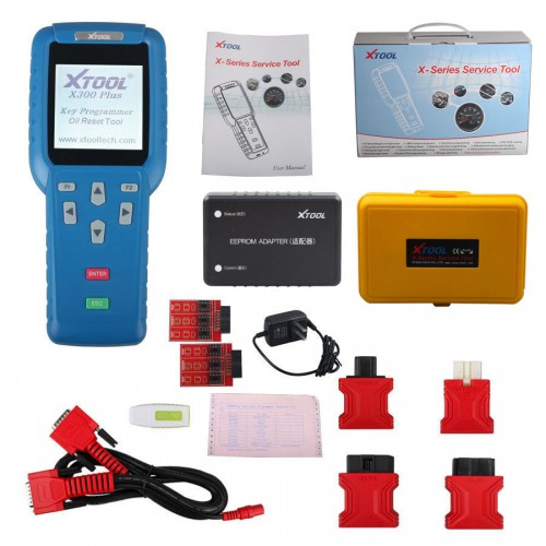 Original Xtool X300 Plus X300+ Key Programmer with EEPROM Adapter Add Special Function Free Shipping