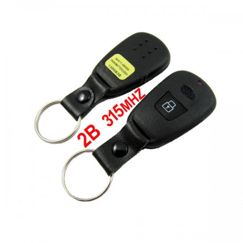2 Button Remote Key 315MHZ Made in China for Hyundai Elantra