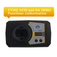 VVDI2 AUDI 5th IMMO Functions Authorization Service