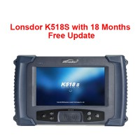 【Xmas Sale】LONSDOR K518S Auto Key Programmer with 18 Months Free Update