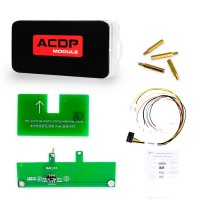 Yanhua Mini ACDP Read BMW DME ISN Code by OBD Module Authorization with Adapters