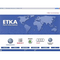 Audi VW Seat Skoda ETKA Electronic Catalogue V7.5