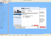 Bosch ESI (tronic) 2014.1 With Multi-language Support WinXP