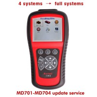 MD701/MD702/MD703/MD704 One Year Update Service for 4 Systems to Full Systems