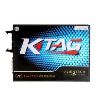 (Free Shipping) KTAG Firmware V7.020 K-tag FW 7.020 without Tokens Limit Master Version ECU Programmer Main Unit