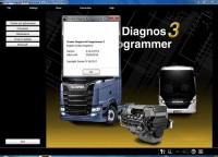 Newest V2.31.1 Scania VCI 2 SDP3 Scania Diagnos Programmer 3 Software for Scania Trucks Buses