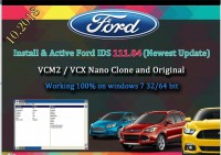 Ford IDS V112 Full Software for Ford VCM II Support Online Programming Update to 2018