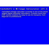 New Tachosoft Mileage Calculator V21.5 Multi-vehicle