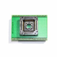 PLCC44 socket adapter for chip programmer