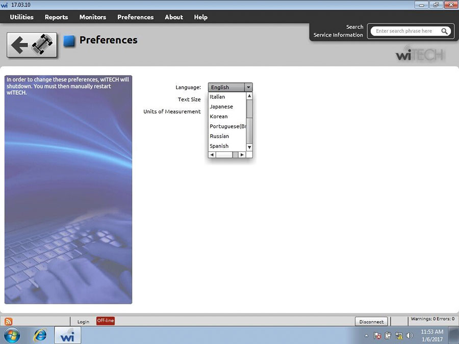 witech micropod software display 3