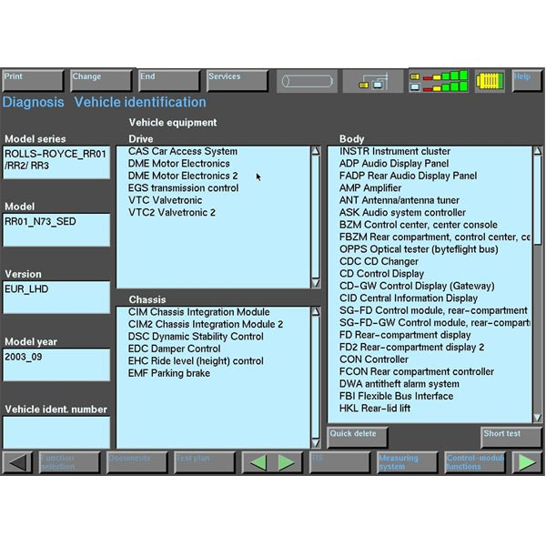 Rolls Royce 200301-200901 Software External HDD