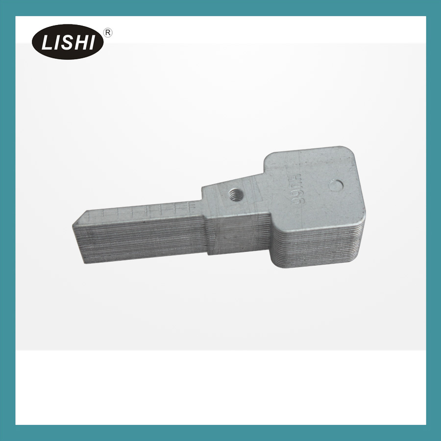 LISHI for Audi Ford VW Porsche Seat Skoda HU66 2-in-1 Auto Pick and Decoder