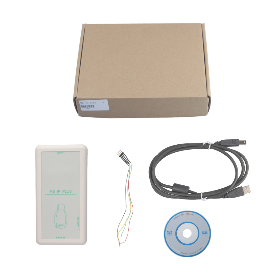 MB IR PLUS Key Programmer for Mercedes Benz Support Smart Key of Benz Car