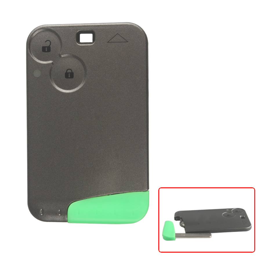 433MHZ 2 Button Smart Key For Renault Laguna Hot Sale