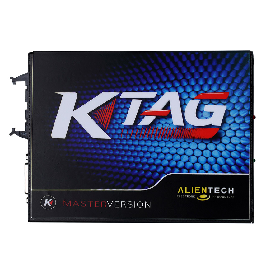 KTAG K-TAG ECU Programming Tool Master SW V2.13 FW V6.070 With 500 tokens No Checksum Error