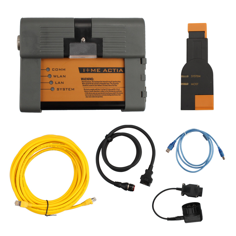 ICOM A2+B+C Diagnostic and Programming Tool incl Optical Fiber for BMW without Software