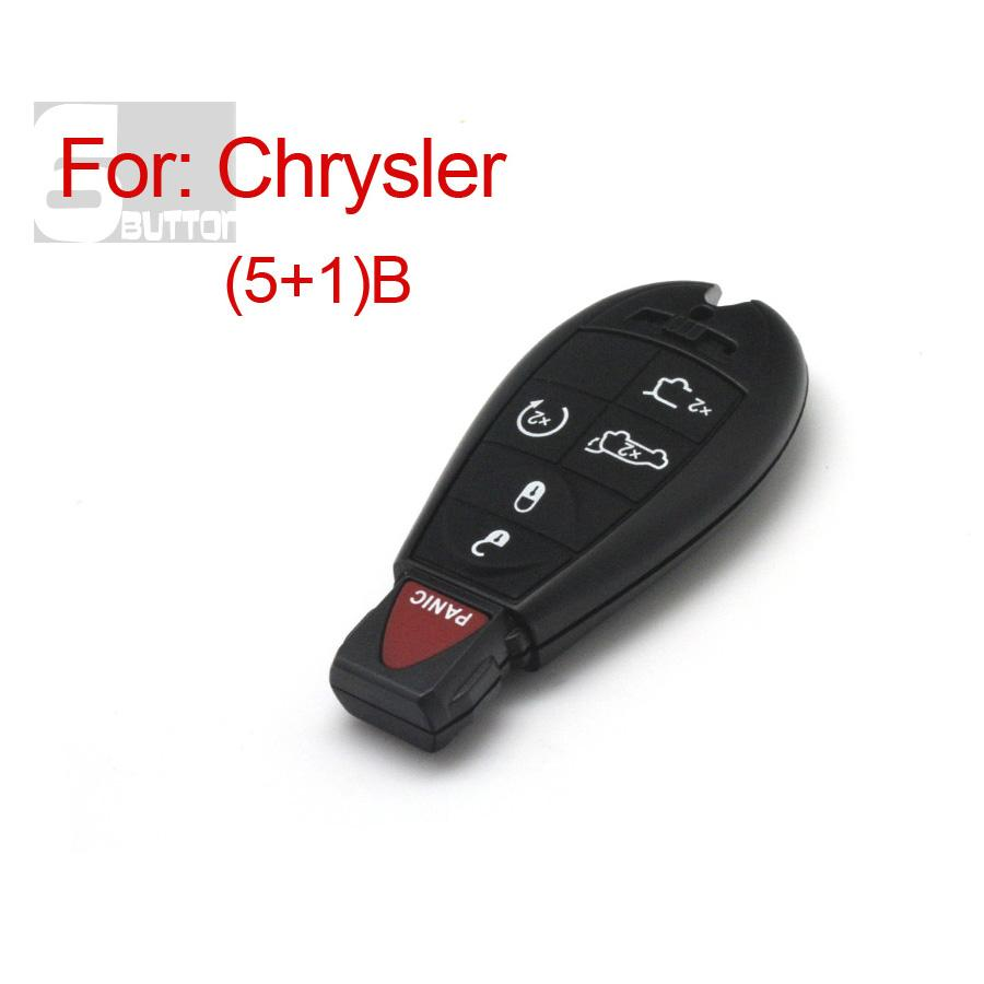 Smart Key Shell 5+1 Button For Chrysler
