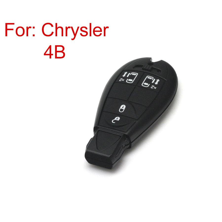 Smart Key Shell 4 Button New Release For Chrysler
