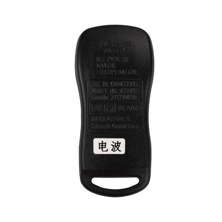 Remote 3 Button (315MHZ) For Nissan TIIDA 5pcs/lot