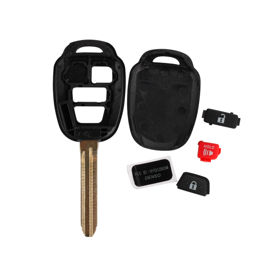 Remote Key Shell 2+1 Button Without Logo For Toyota 5pcs/lot