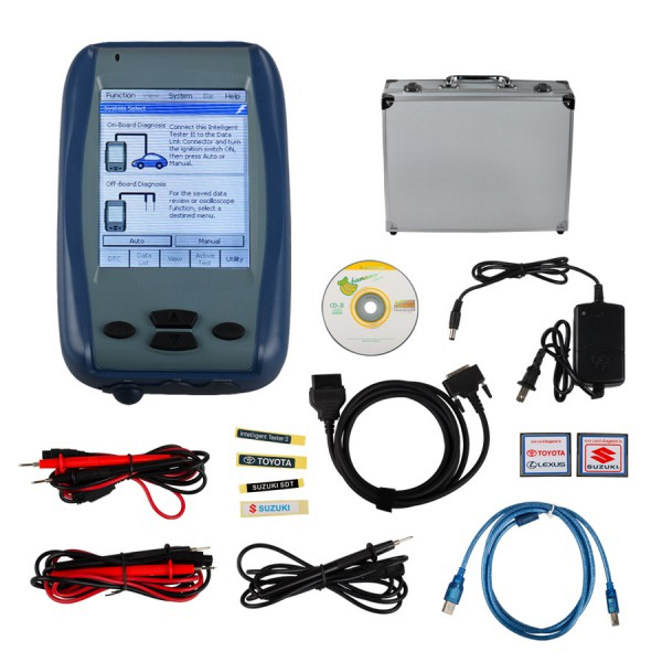 Denso Intelligent Tester IT2 For Toyota and Suzuki with Oscilloscope