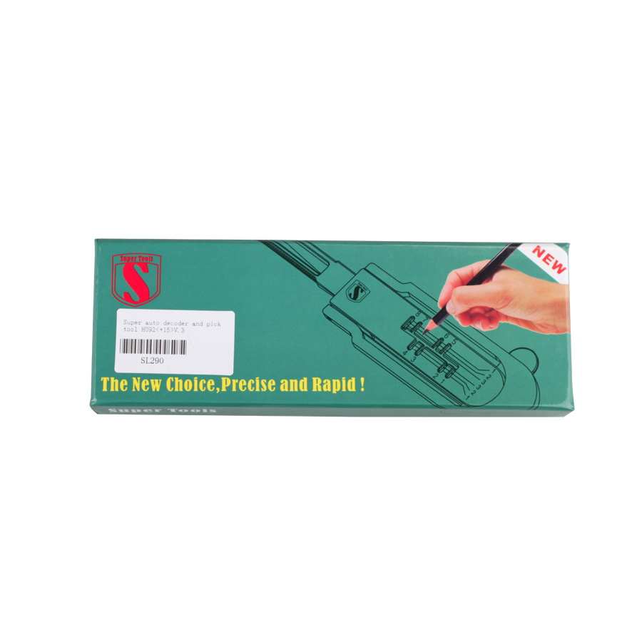 Super Auto Decoder and Pick Tool HU92(+15)