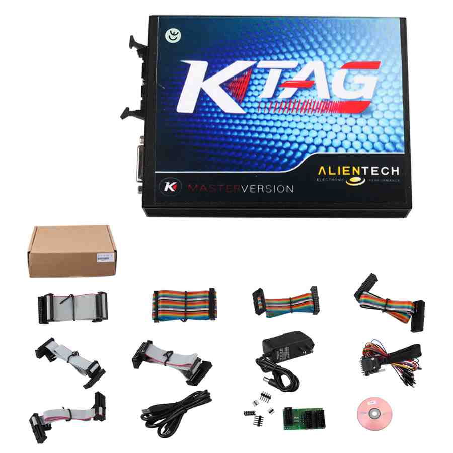 Best Price V2.13 Ktag FW V6.070 ECU Programmer Master Unlimited Tokens with ECM Tianium V1.61