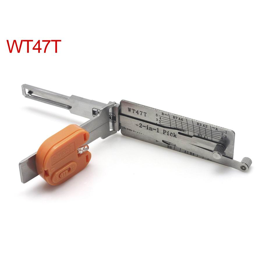 Auto Smart WT47T 2in1 decoder and pick tool for Saab