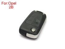 Remote Key shell 2 buttons use for original board size HU100 for Opel 5pcs/Lot