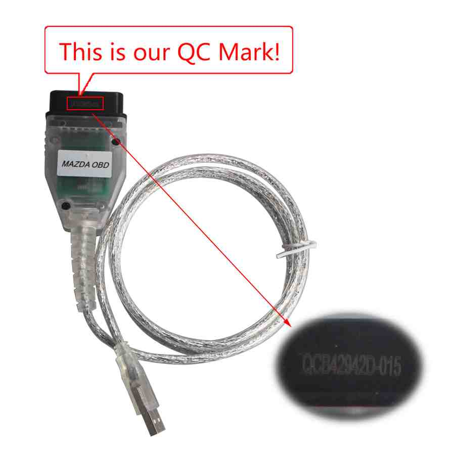 OBD2 Odometer Correct and Airbag Moduel Repair Tool for Mazda