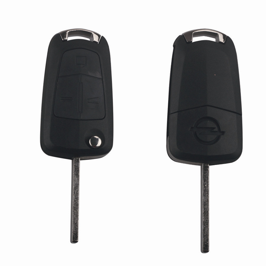 Remote Key Shell 3 buttons use for original board size Opel HU100 5pcs/Lot
