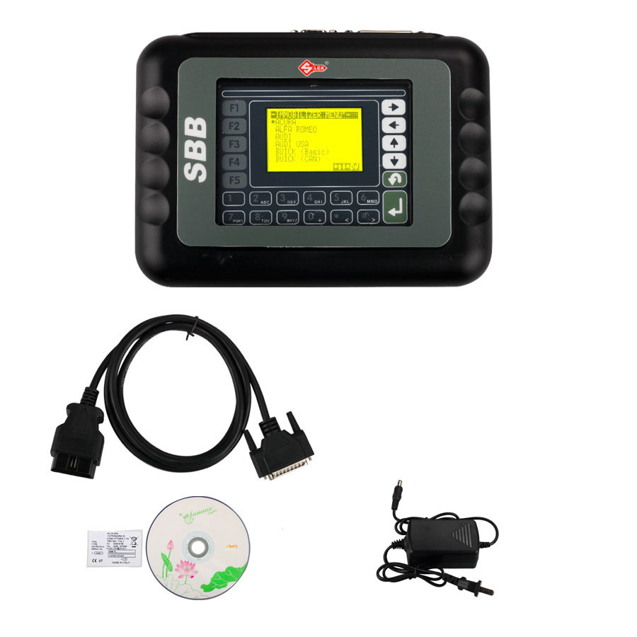 New SBB Key Programmer V33.02 2015V Classic Version