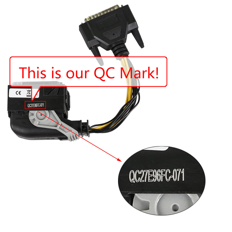 Benz ECU Test Adaptor works with VVDI Kess V2 Ktag NEC57 MB KEY OBD2