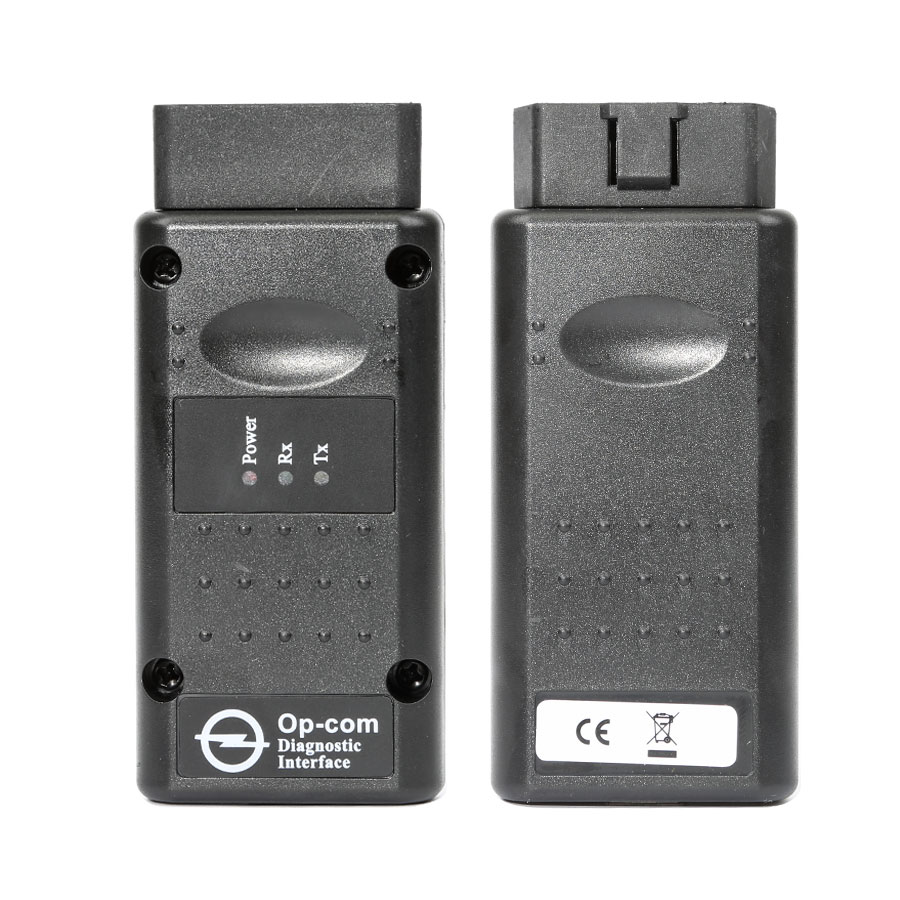 Best Quality Opel Opcom V2014/2010 Firmware V1.7 CAN OBD2 Diagnostic Tool with Single Layer PCB
